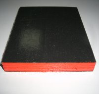 Plastic surface plywood